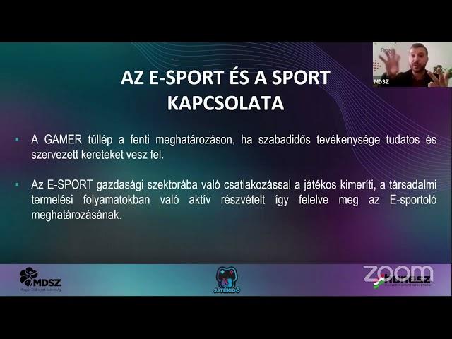 Játékidő - Molnár Attila - E-sport és sport kapcsolata