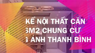 Thiết kế trang trí nội thất căn hô 106m2 chung cư Hoàng Anh Thanh Bình - Feel Decor
