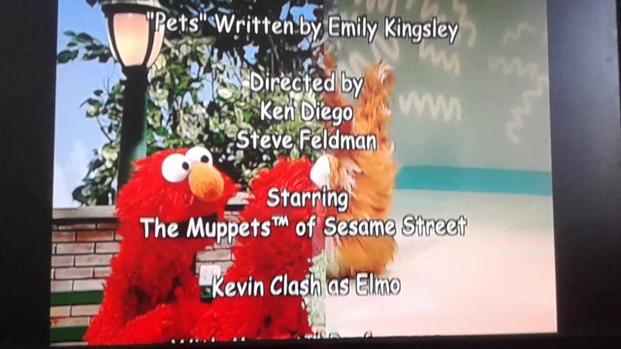 Elmo S World Birthdays Games More Credits By Elmo S World