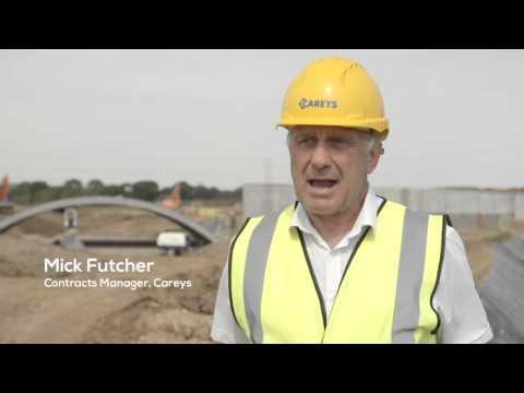 Careys Berewood FlexiArch Bridge Installation Project