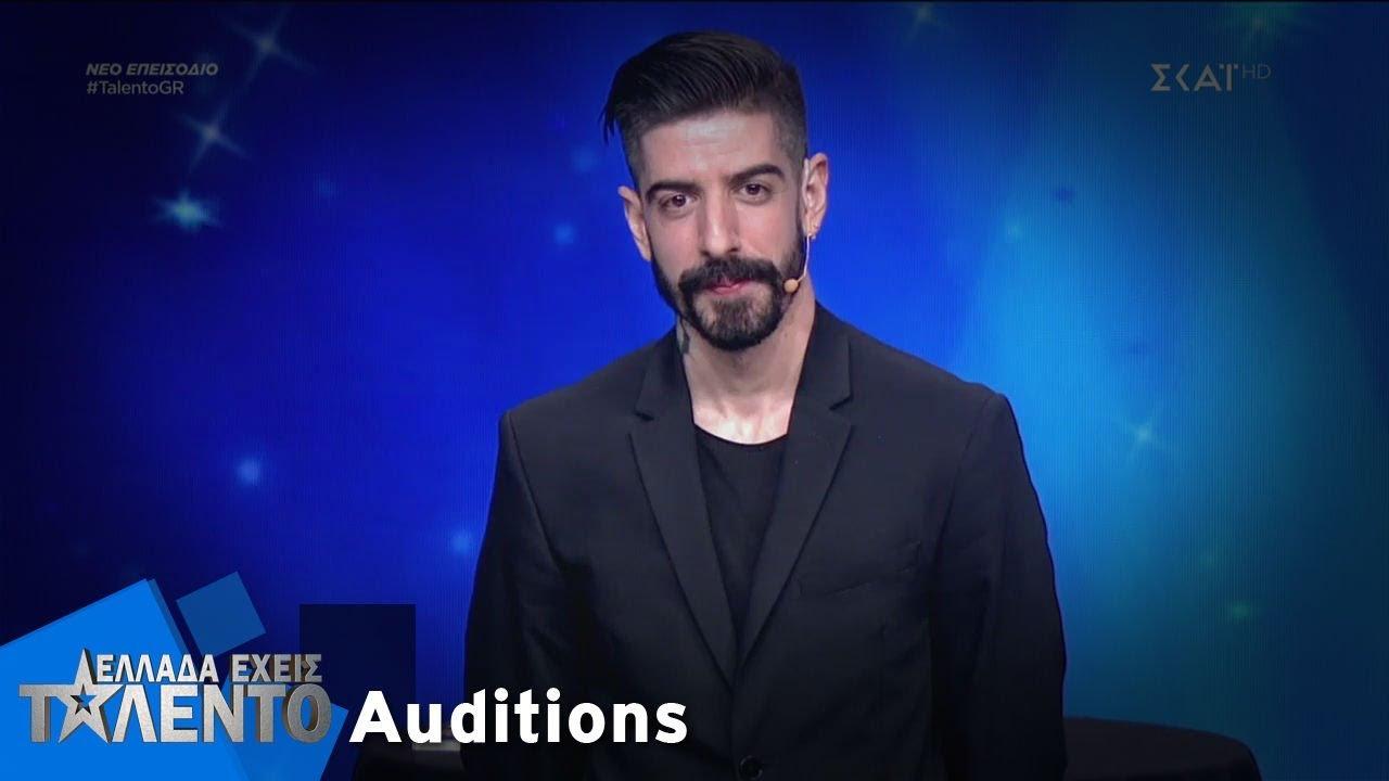 Ελλάδα Έχεις Ταλέντο - Season 2 | Κωνσταντίνος Σιουρούνης | 22/10/2018