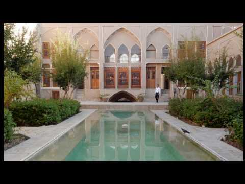 """Iran 2016, KASHAN (1) Le Jardin Fin, mosquée Aga Bozorg, Hotel """"Saraye Ameriha"""""""