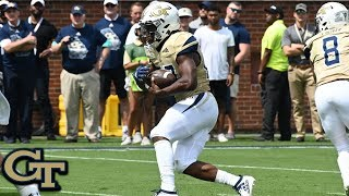 Georgia Tech's Jordan Mason Highlights vs. The Citadel