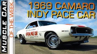 1969 Chevrolet Camaro Indy 500 Pace Car 396 Convertible Muscle Car Of The Week Episode 277 V8TV