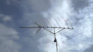 Full Rotation of the Channel Master CM-3020 Antenna