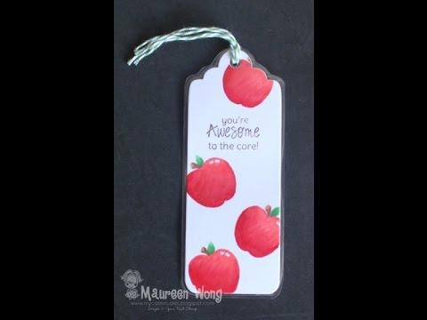 YNS Apple No Lines Bookmark