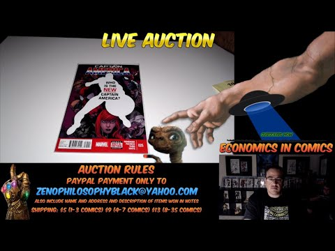 LIVE COMIC BOOK AUCTION LIQUIDATION FROM A-Z  6PM PACIFIC
