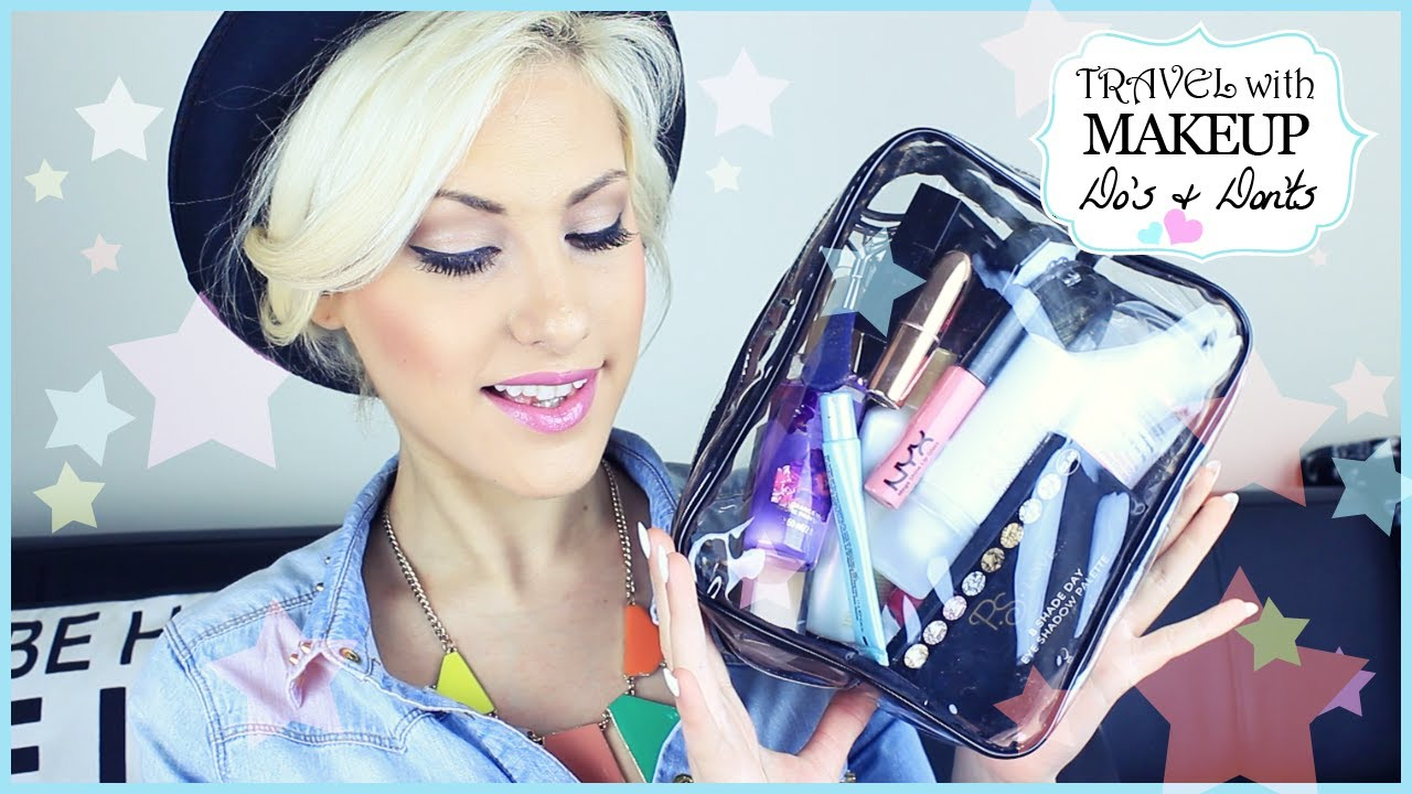How To Travel Fly With Makeup Do S Amp Don Ts ♡ Stefy