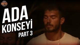 Ada Konseyi 3. Part   16. Bölüm   Survivor Türkiye - Yunanistan