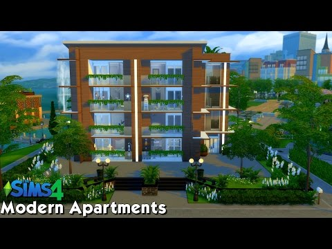 The Sims 4: Speed Build - Modern Apartments