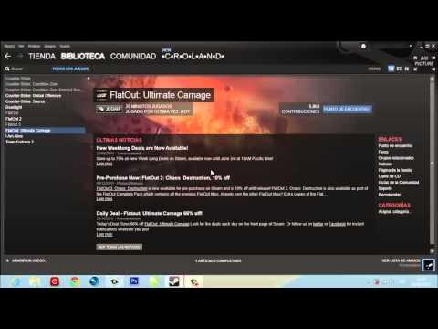 [Solucion] Problema al iniciar FlatOut Ultimate Carnage Steam
