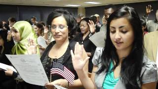 "Swearing in Ceremony ""Naturalized Citizen"" Sept 2, 2010"