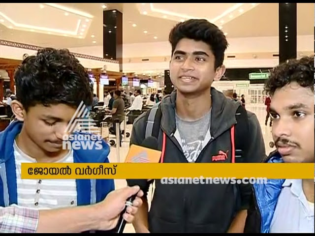 Asianet News Space Salute Team starts journey to NASA