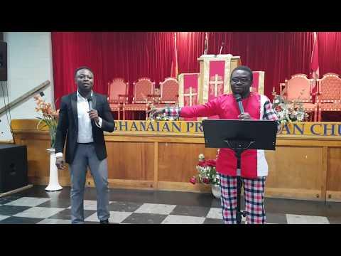 Bring back the dry bones with Kwaku Gyasi, Rev. Azundem and Awuku-Gyampoh at PCG Montreal-Canada