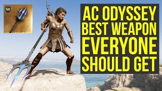 Assassin's Creed Odyssey Weapon EVERYONE SHOULD GET - Poseidon's Trident (AC Odyssey Best Weapons)