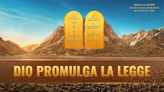 """Film documentario """"Colui che ha sovranità su tutte le cose"""" (Spezzone 8) - Dio promulga la legge"""