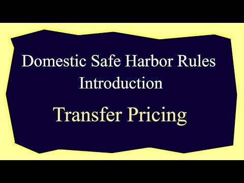 Domestic Safe Harbor Rules Introduction - Transfer Pricing - CA Arinjay Jain