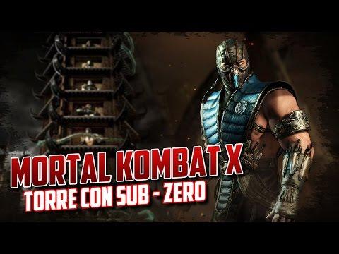 Mortal Kombat X | Torre Klasica | Sub-Zero - Dame tus chichis!!