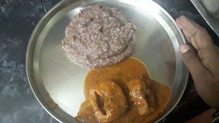 జొన్న రవ్వ తో రాగి సంగటి    Raagi Sangati