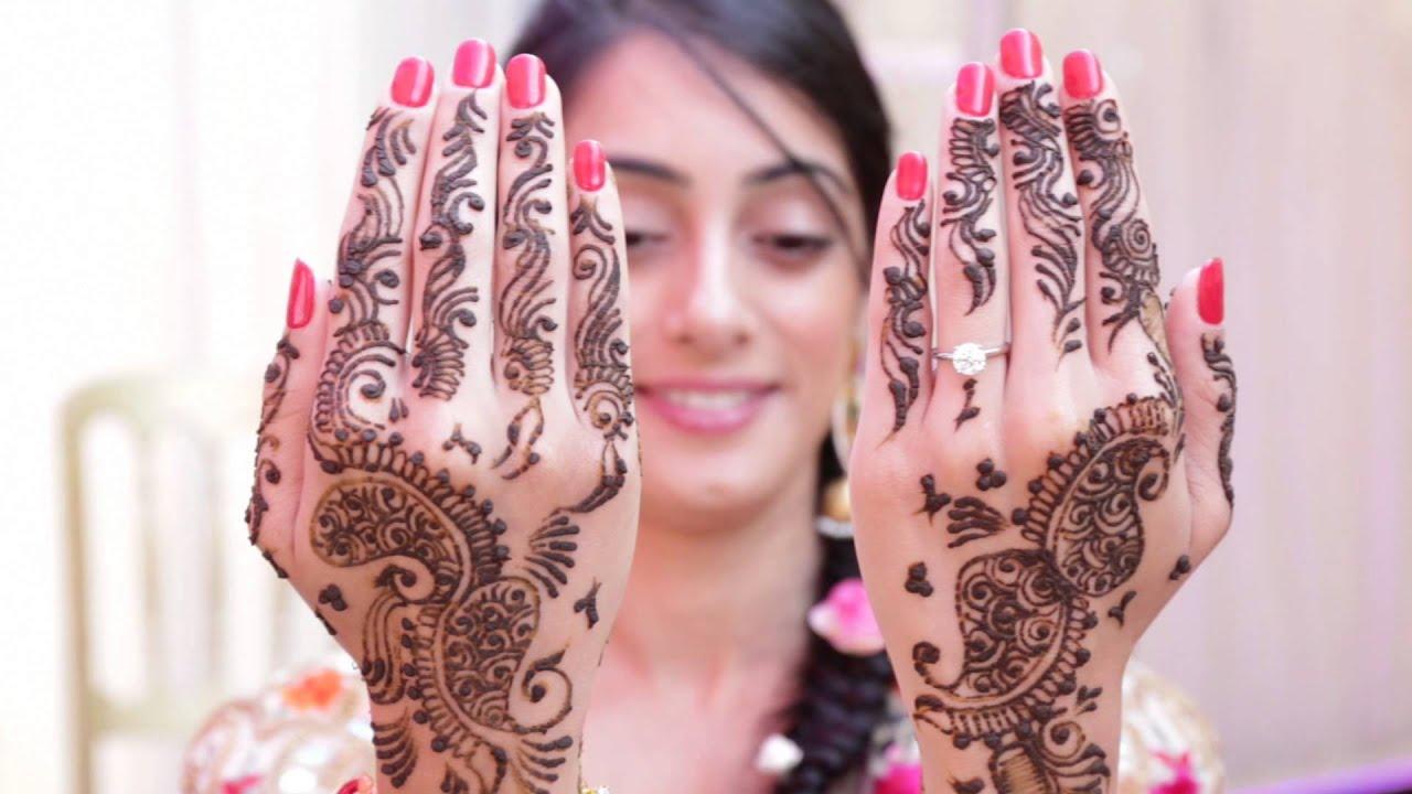 Mehndi night - (indian wedding) Rav weds parm - YouTube