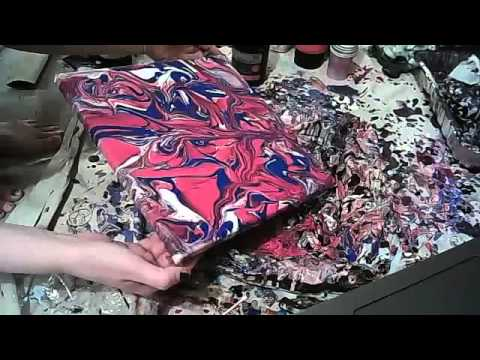 Clip/Preview abstract painting art video