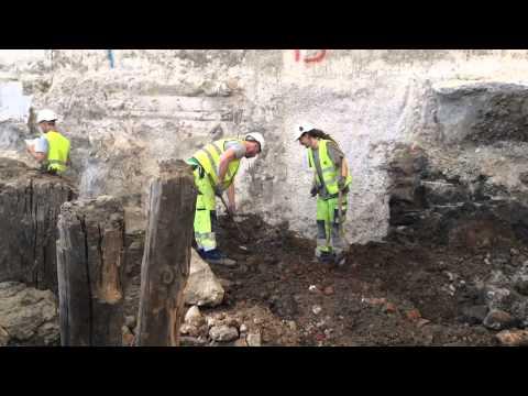 Sidste Reportage Fra Gammel Strand-udgravningen