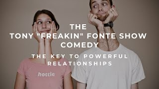 COMEDY the key to powerful relationships