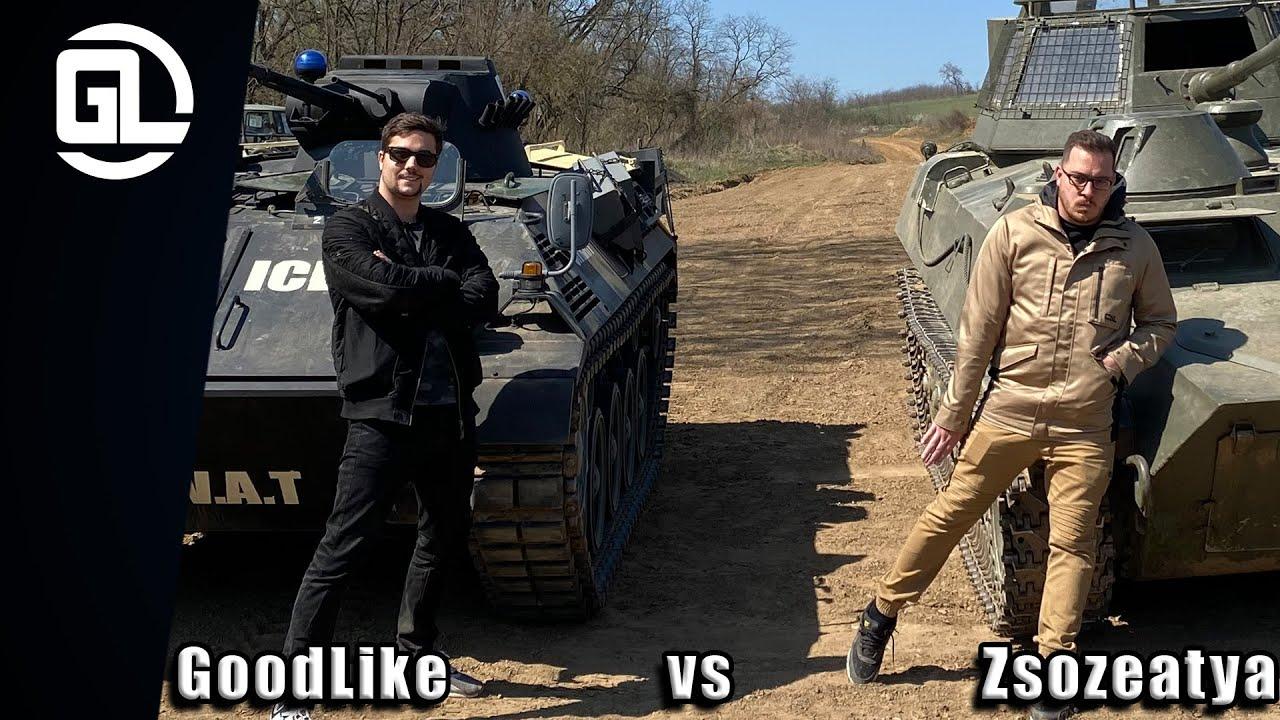 GoodLike VS Zsozé - A nagy tankcsata!