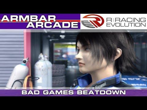 QUIT TAILGATING ME! - R: Racing Evolution Armbar Arcade - Bad Games Beatdown