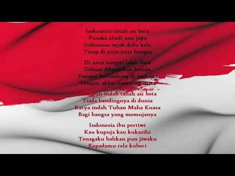 Indonesia Pusaka   Lagu Wajib Nasional  Versi Karaoke   Instrumental