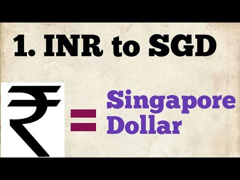 Inr To Singapore Dollar Exchange Rate | Sgd To Inr | 1 Sgd To Inr | Inr To Sgd | Sgd To Inr Today