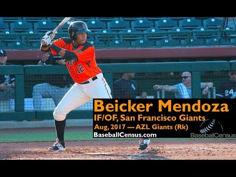 Beicker Mendoza, IF/OF, San Francisco Giants