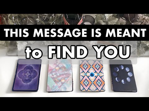 This MESSAGE is meant to find you TODAY✨Pick a card (timeless)Tarot reading.