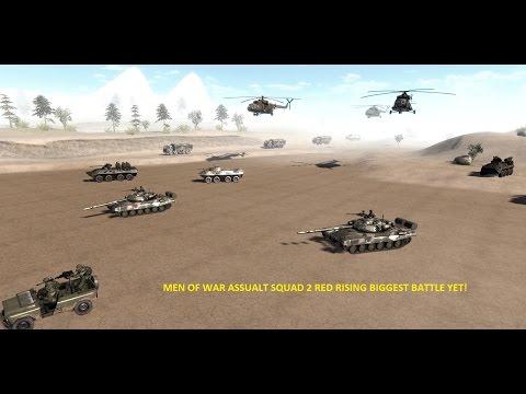 "Men Of War Assault Squad 2 Red Rising ""BIGGEST BATTLE YET"" Ep2"