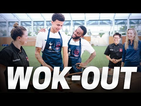 WOK-OUT | Cooking with Dele Alli and Georges-Kevin N'Koudou