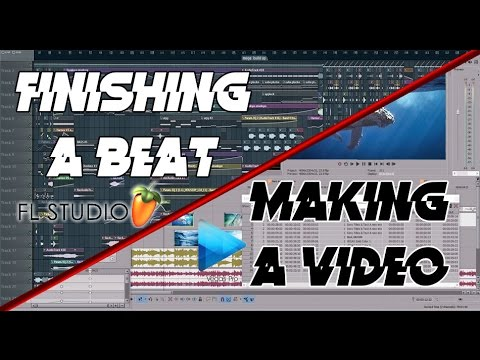 Finishing a Beat & Making a Video for it LIVE!
