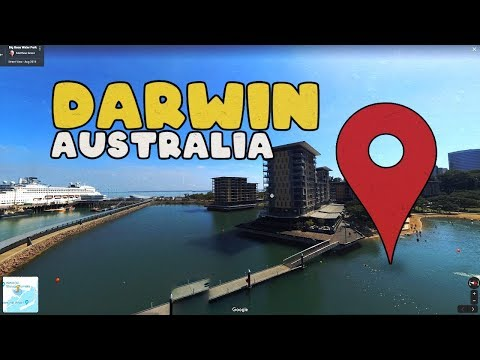 Let's Virtually Tour Through Darwin Australia