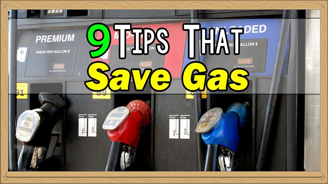 How to save gasoline