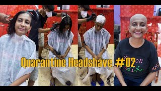 Quarantine Headshave / Lockdown Headshave #02