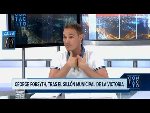 Entrevista en 'Contacto' de Canal N con Mijael Garrido Lecca