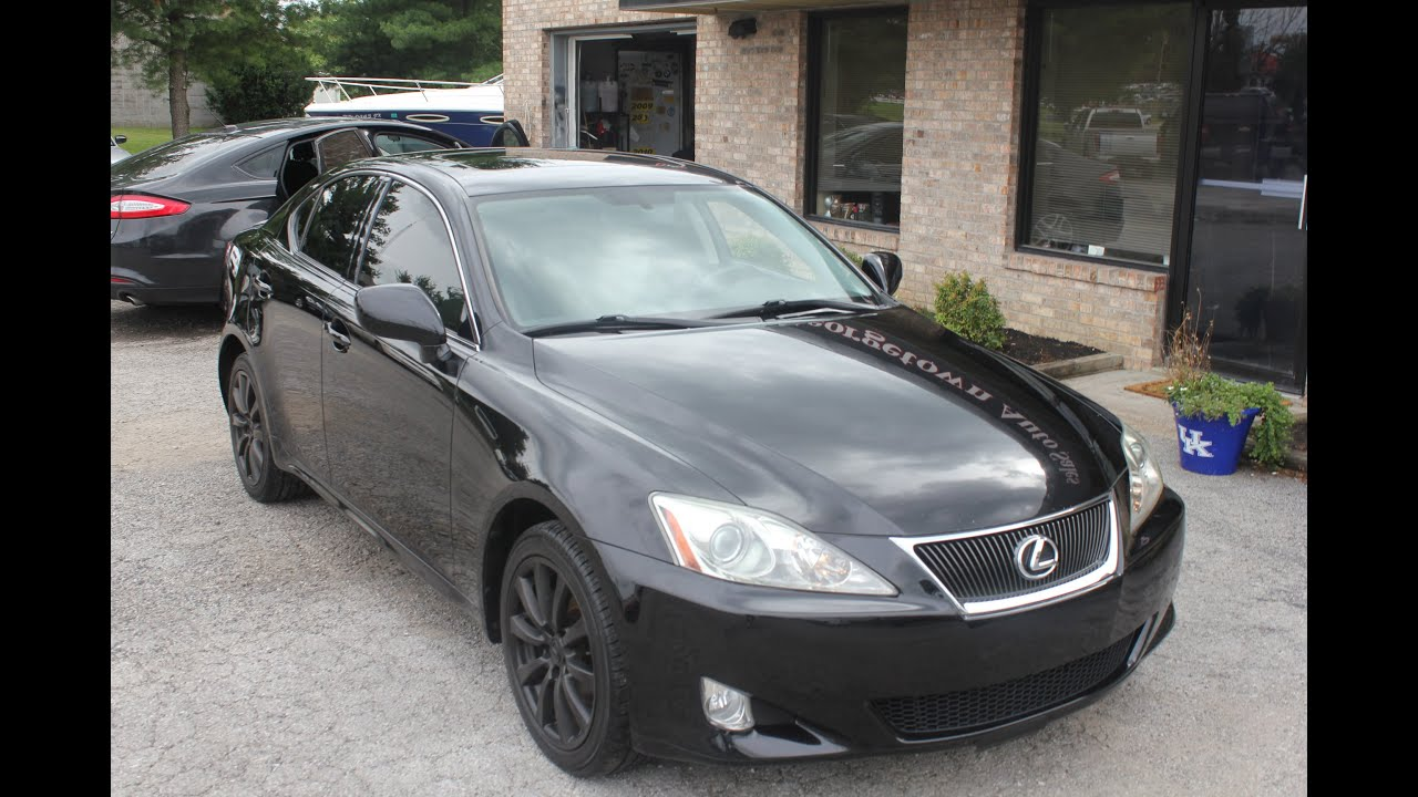 Used 2008 Lexus IS 250 AWD black for sale Geor own Auto Sales KY