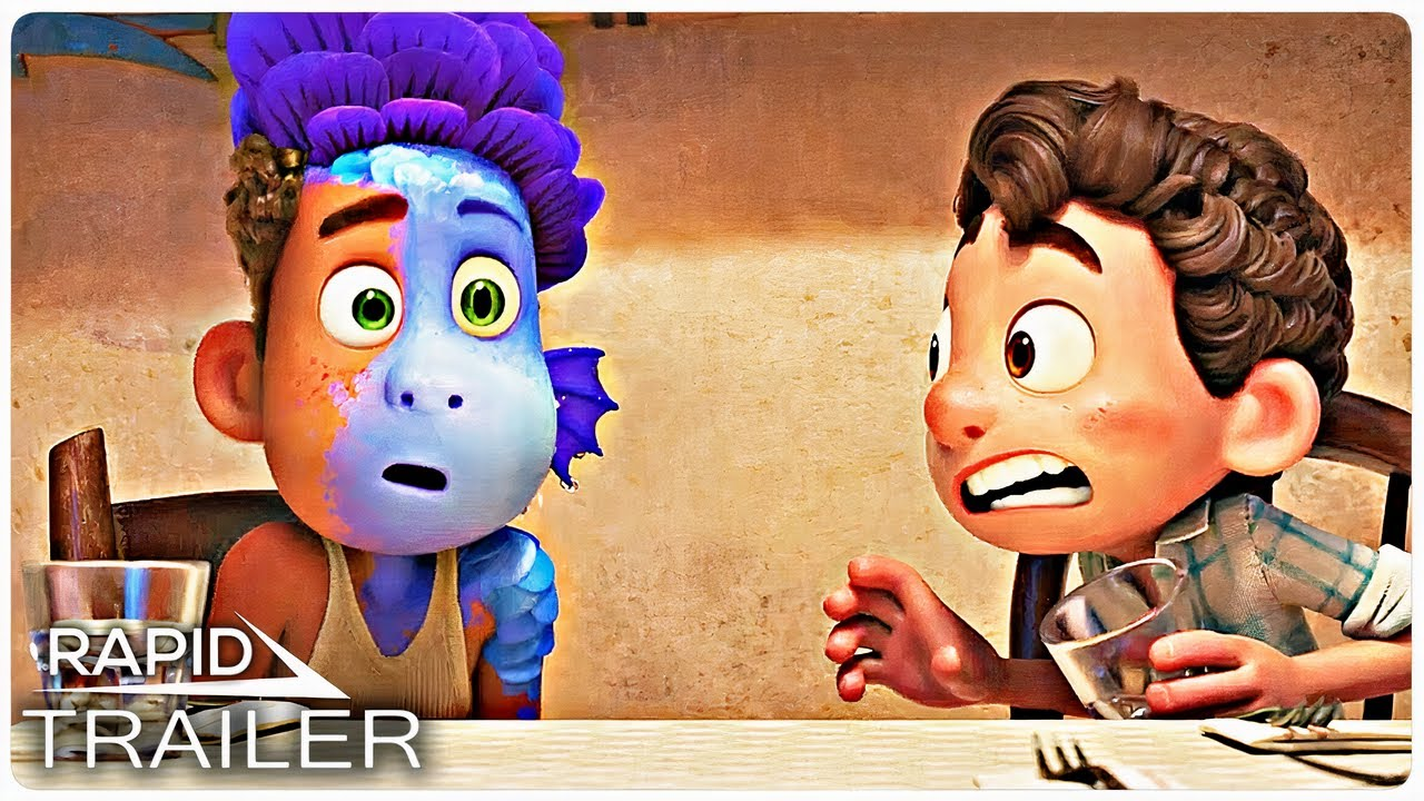 LUCA Official Trailer (2021) Disney, Pixar Animated Movie HD