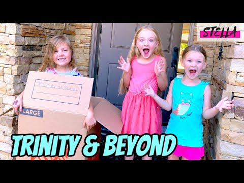 Stella gets mailed to Trinity & Beyond and IT WORKED