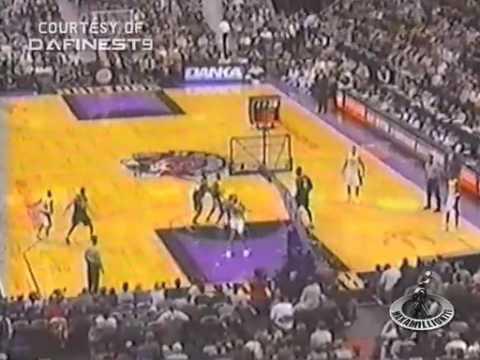 VC nice putback vs Cleveland 2000 season