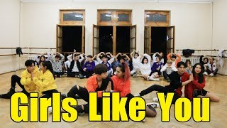 Maroon 5 - Girls Like You | Choreography Chuba & Agusha | Fam Dance Studio