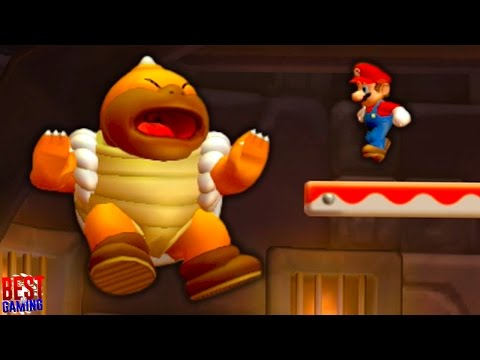New Super Mario Bros. U Walkthrough - Rock-Candy Mines 100% Guide (Every Star Coin and Secret Exit)