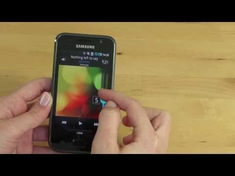 Samsung Galaxy S Test Multimedia