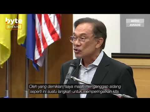 'Lebih sukar jadi pemerintah daripada menjadi pembangkang' - Anwar Ibrahim