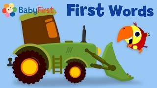 Learn Vehicles Names & Sounds | Toy Tractor for Kids | Play with VocabuLarry by BabyFirst
