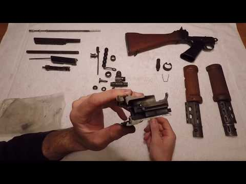 Israeli Light Barrel FAL Parts Kit - Unpacking And Inspection